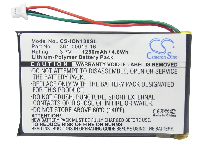 361-00019-16 Battery for Garmin Nuvi 1300 Nuvi 1370T Nuvi 1340T Pro Nuvi 1350 Nuvi 1350 Nuvi 1370 Nuvi 1375T VINTRONS 361-00019-12 Nuvi 1350T Nuvi 1390,