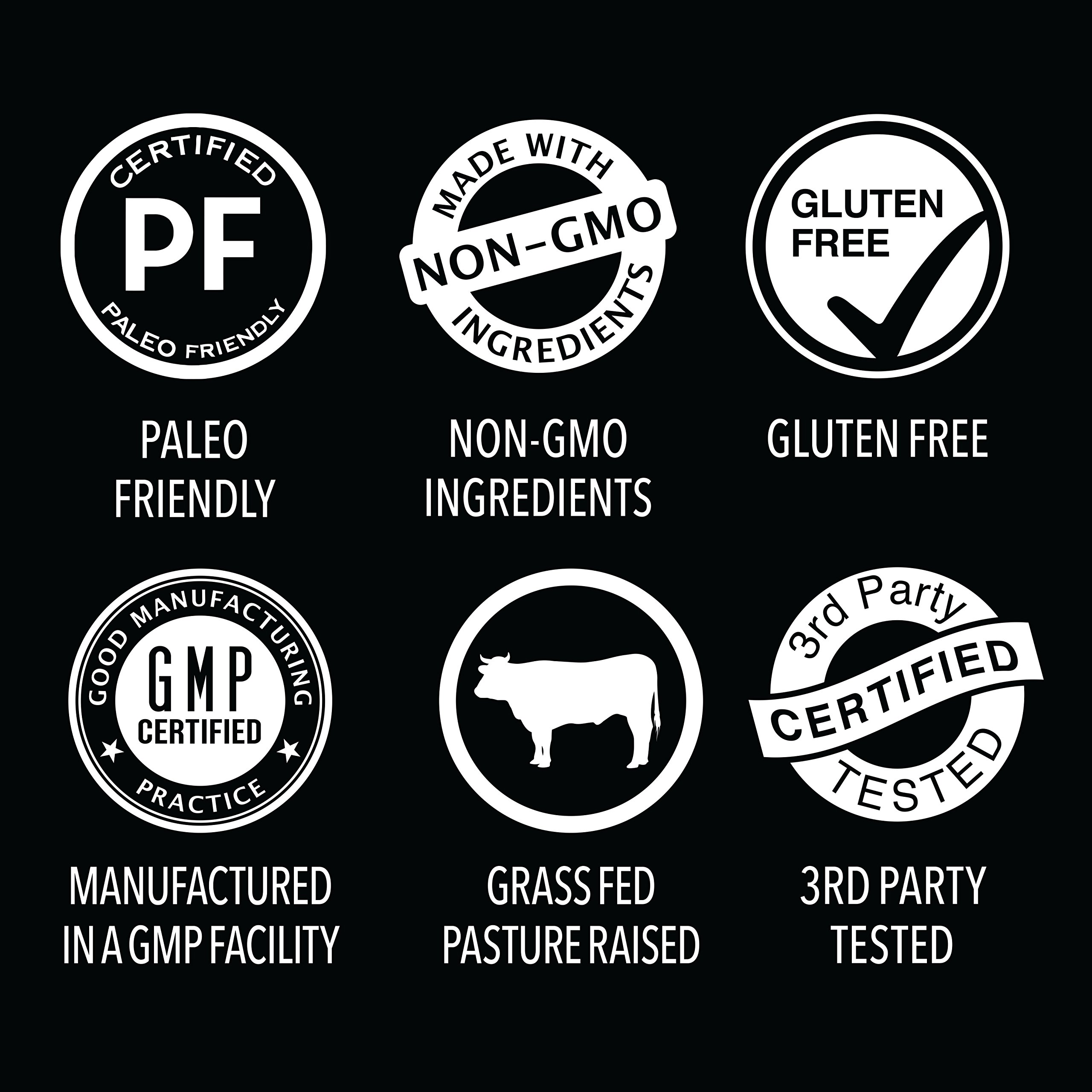 Gelatin Collagen Cooking Powder ~ Sourced from Pasture Raised,Grass-Fed Cows ~ Great for Cooking and Baking~ Certified Keto Friendly and Non-GMO (16oz) by Sports Research (Image #3)