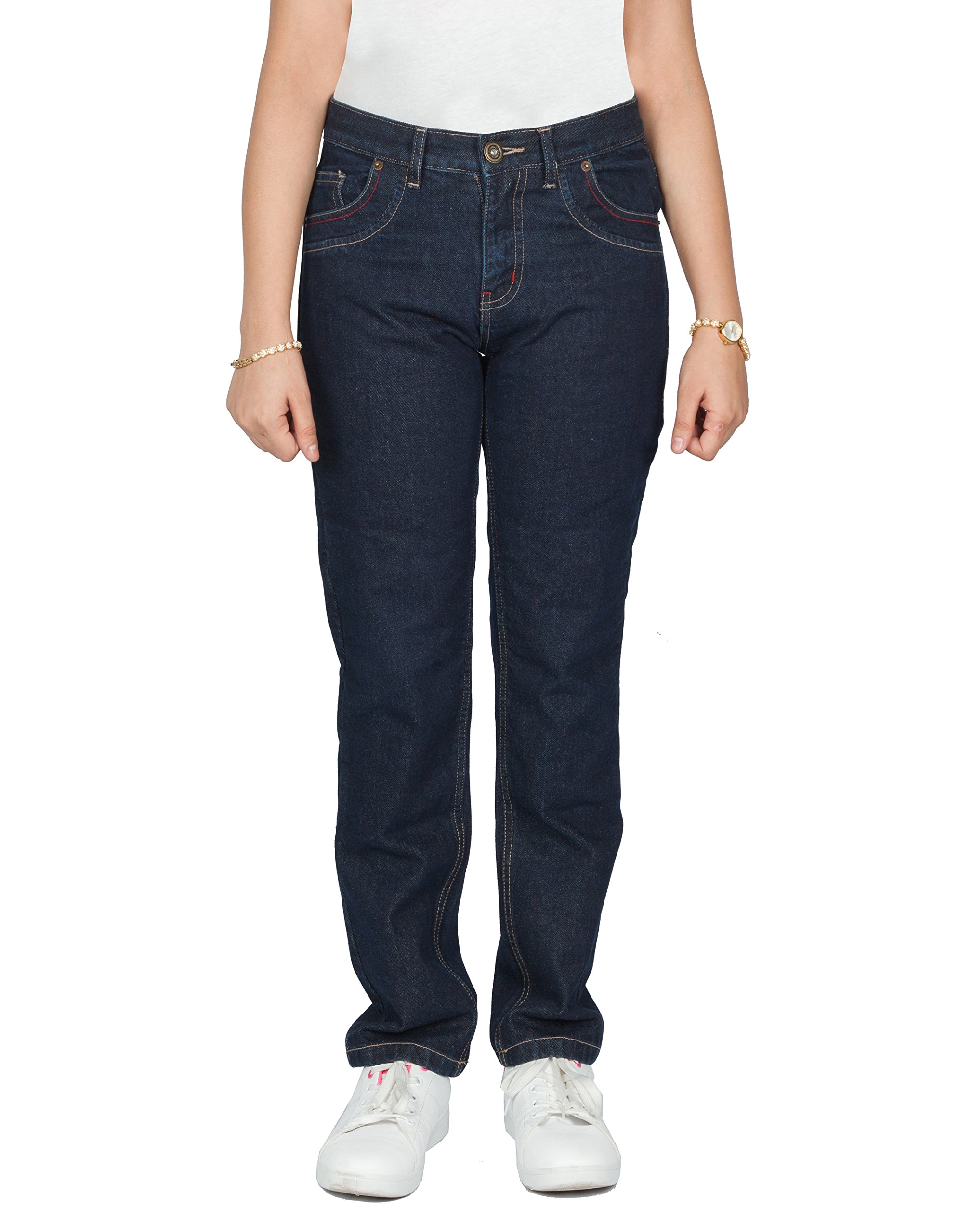 OneDayMore Ladies Aramid Lined Motorcycle Jeans, Free Protectors. 8102, 32W x 29L.