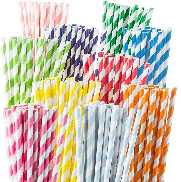 The Best Paper Beverage Straws