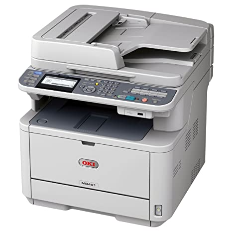 Amazon.com: OKI datos MB MB451 Wireless Monochrome Printer ...