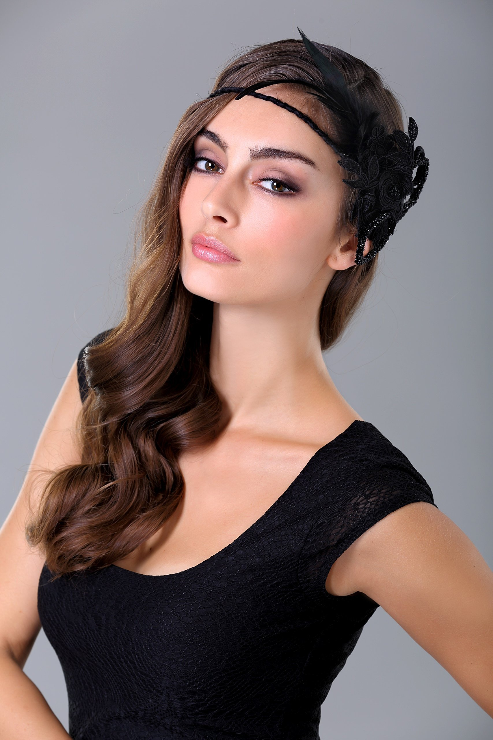 Headpieces, Fascinator, Black Swan, Costume Design, Hairband, Hair Accessories, Headwear, Head dress by Elipeacock