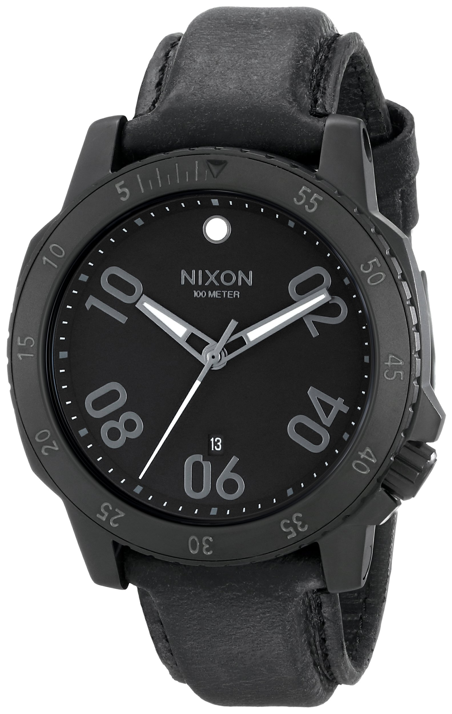 Nixon Men's A508001 Ranger Leather Watch