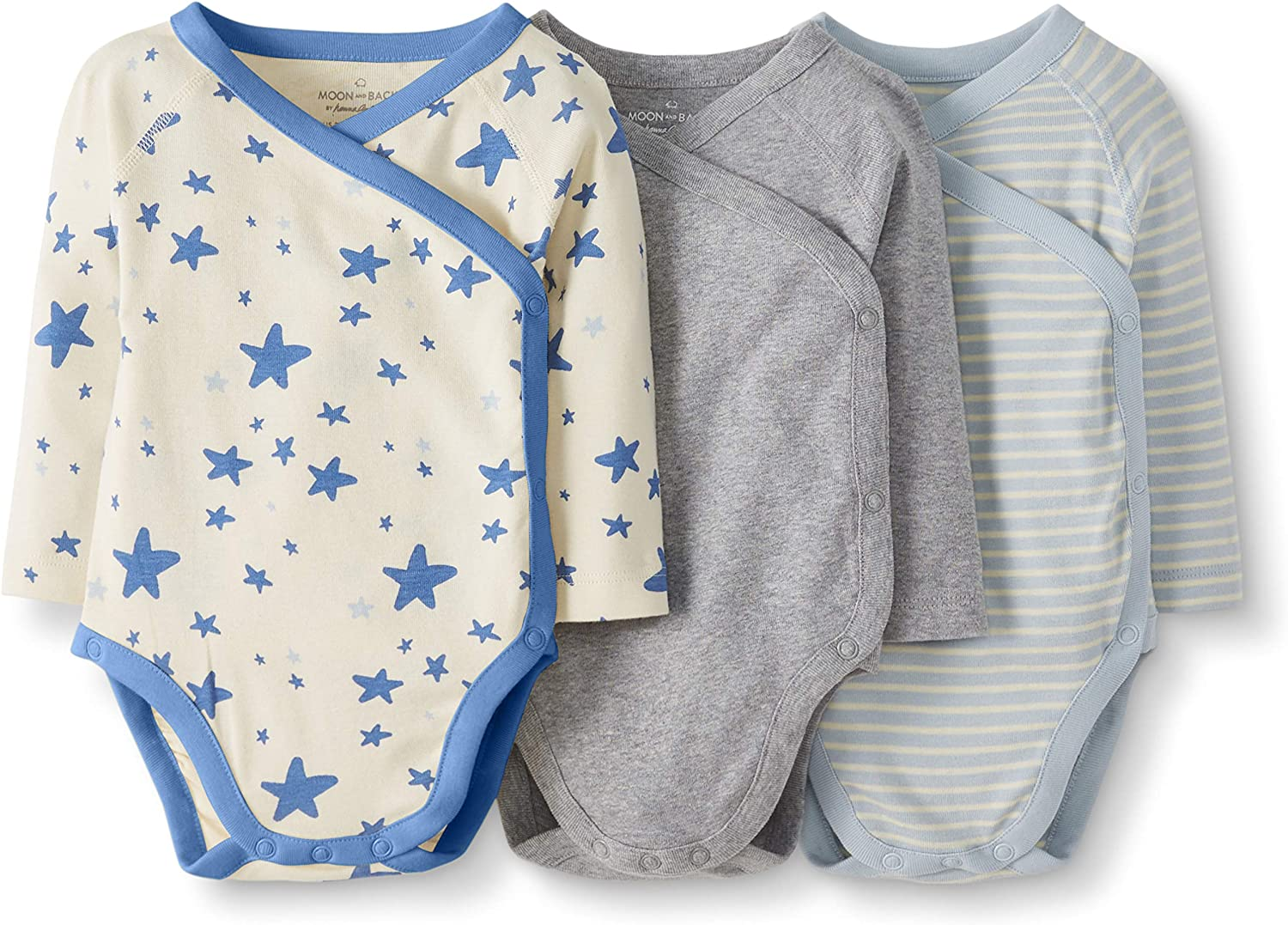 Moon and Back by Hanna Andersson Baby 3 Pack Jogger