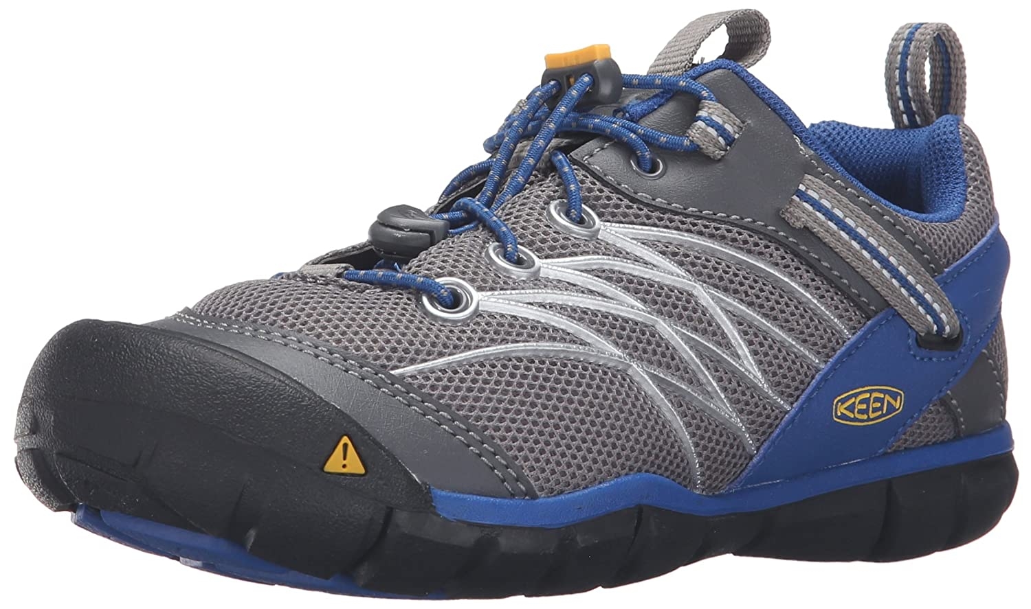 KEEN Chandler CNX Shoe B01921L4XO 8 Toddler US Toddler|Gargoyle/True Blue