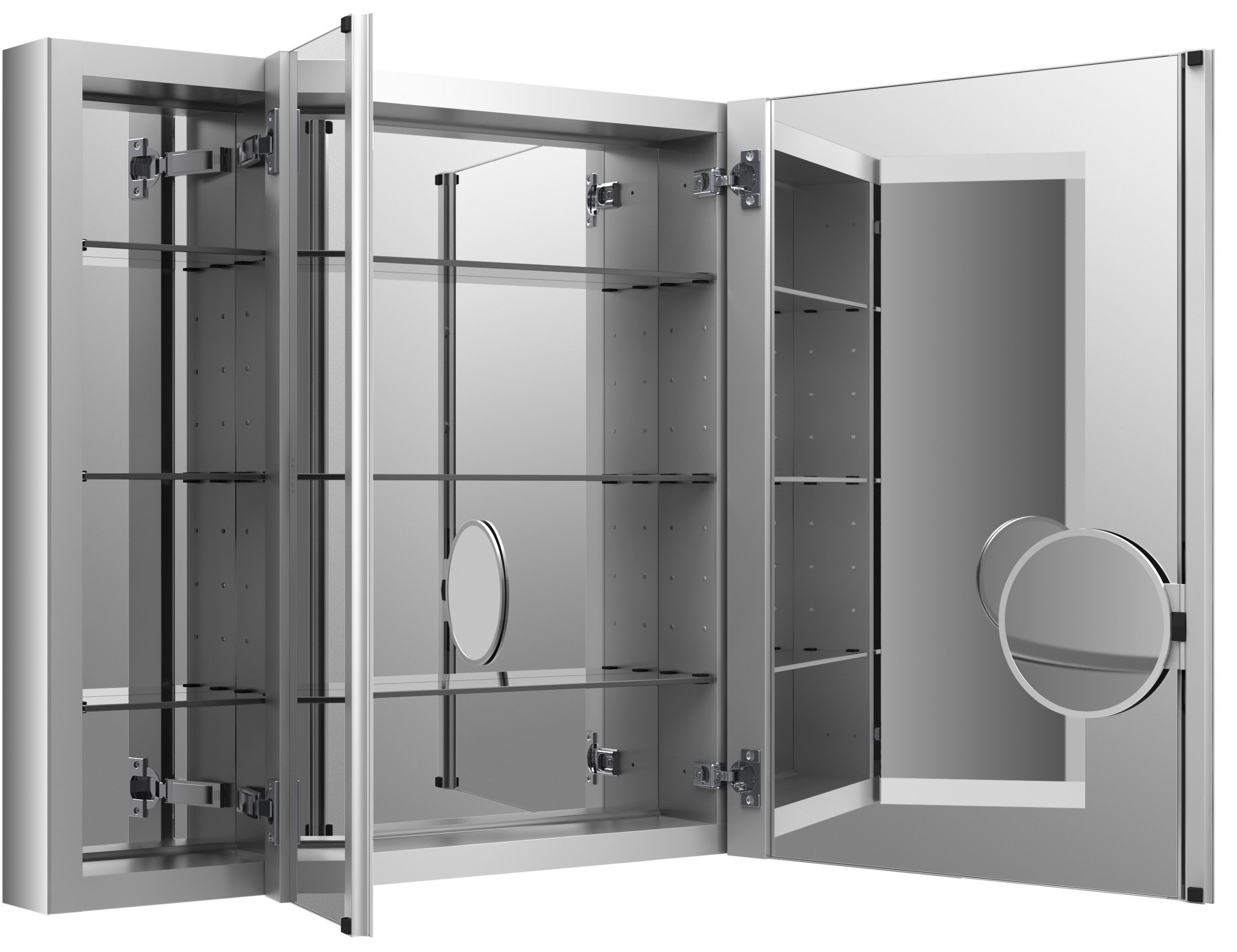 KOHLER K-99011-NA Verdera 40-Inch By 30-Inch Slow-Close Medicine Cabinet With Magnifying Mirror by Kohler