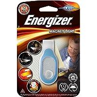 Energizer E300682400-Luz Funcional LED con Clip magnético, 30 LM, 15 Horas, Resistente al Agua, tamaño Compacto, Pilas…