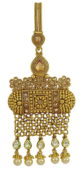 Matra Indian Traditional Gold Tone Kundan Women s Wear Saree Waist Key Chain  Jewelry  Amazon.ca  Jewelry 1aaad87e51