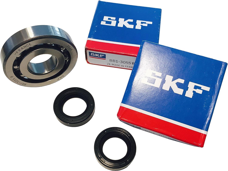 Juego de rodamientos de cig/üe/ñal C3 con anillos de ajuste de metal