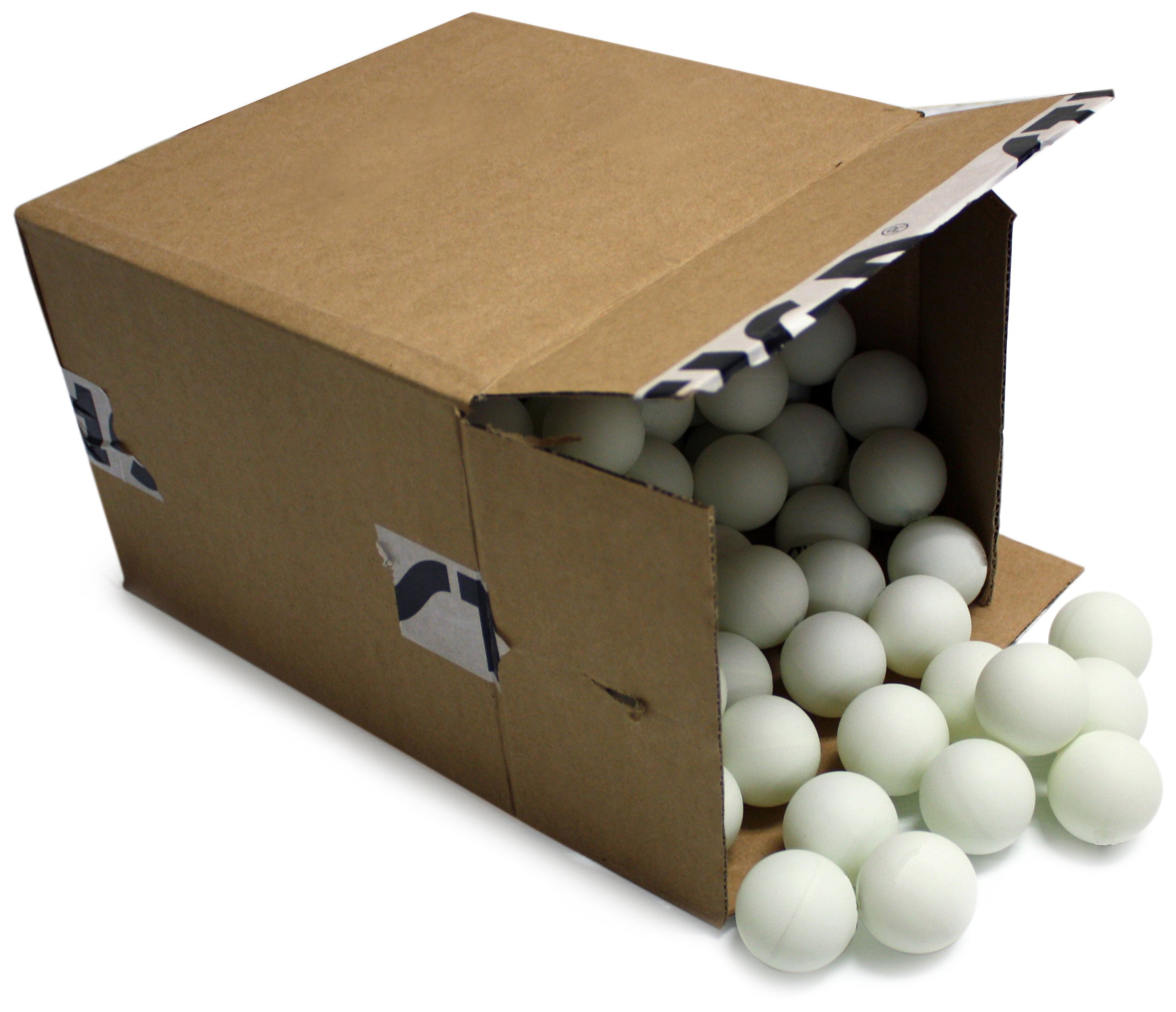STIGA 2-Star White No Print Table Tennis Balls (144-Count)