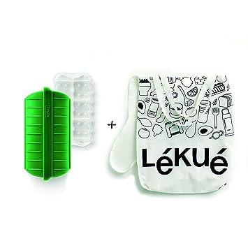 Lékué Estuche de Vapor Green Shopper Kit, Silicona: Amazon.es: Hogar