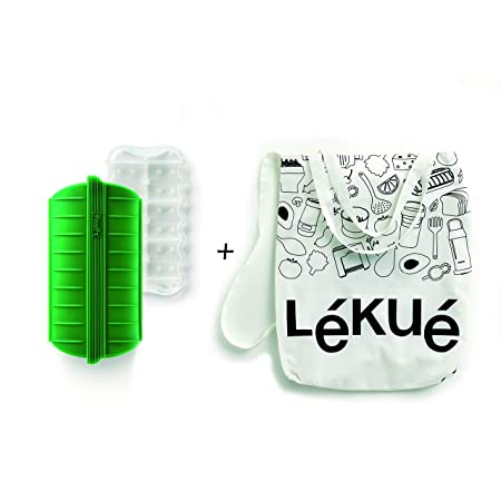 Lékué Estuche de Vapor Green Shopper Kit, Silicona: Amazon.es: Hogar