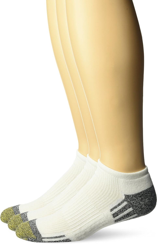 Gold Toe Outlast No Show Socks, 3-pack