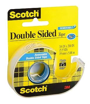 3/M Scotch/ /Cinta Adhesiva de Doble Cara extra/íble