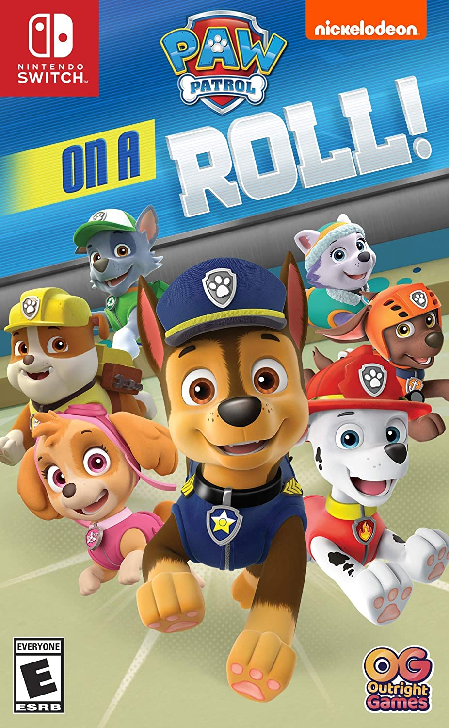 Paw Patrol On A Roll! for Nintendo Switch [USA]: Amazon.es: Ui ...