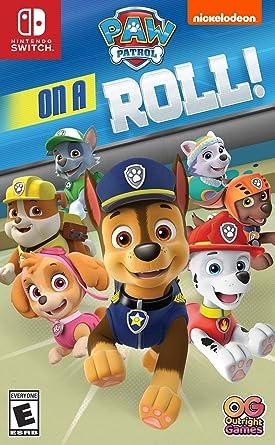 Paw Patrol On A Roll! for Nintendo Switch [USA]: Amazon.es: Ui ...