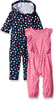 458983748097 Amazon.com  Carter s Baby Girls  2-Pack Romper  Clothing