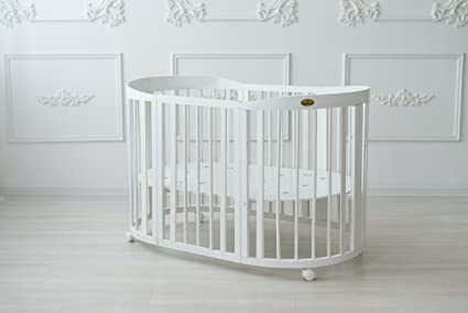 Comfortbaby smartgrow 7in1 babybett aus buche massivholz neues