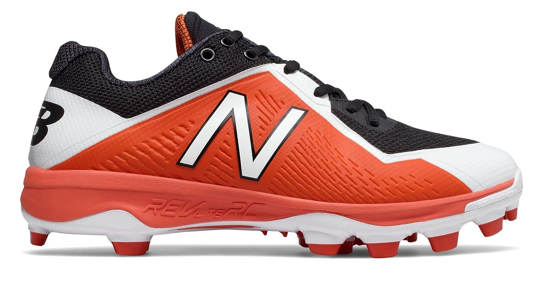 (ニューバランス) New Balance 靴シューズ メンズ野球 TPU 4040v4 Black with Orange ブラック オレンジ US 10 (28cm) B0758DDMP6