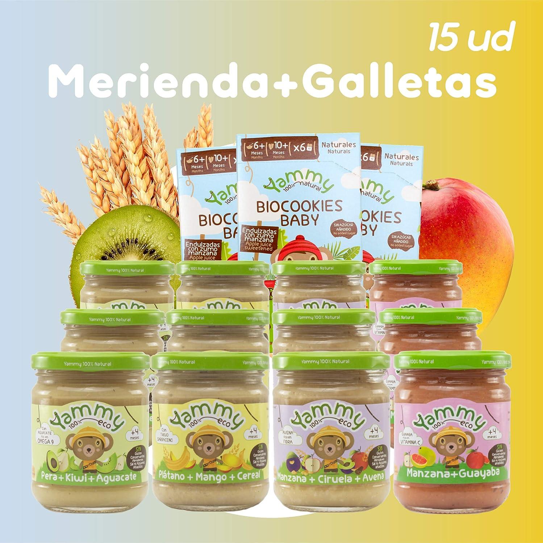 Yammy, Pack potitos Meriendas + Galletas Ecológicos +6 meses ...
