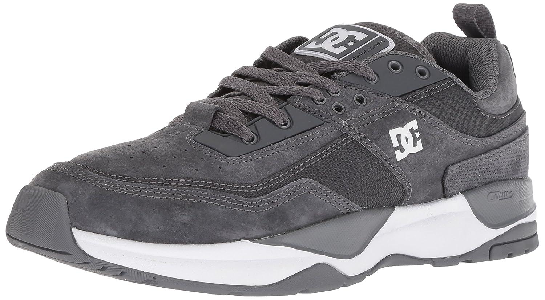 DC Men's E.Tribeka Skate Shoe 9 D(M) US|Pewter