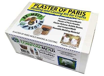 Amazon com: Plaster of Paris Molding and Casting Kit for