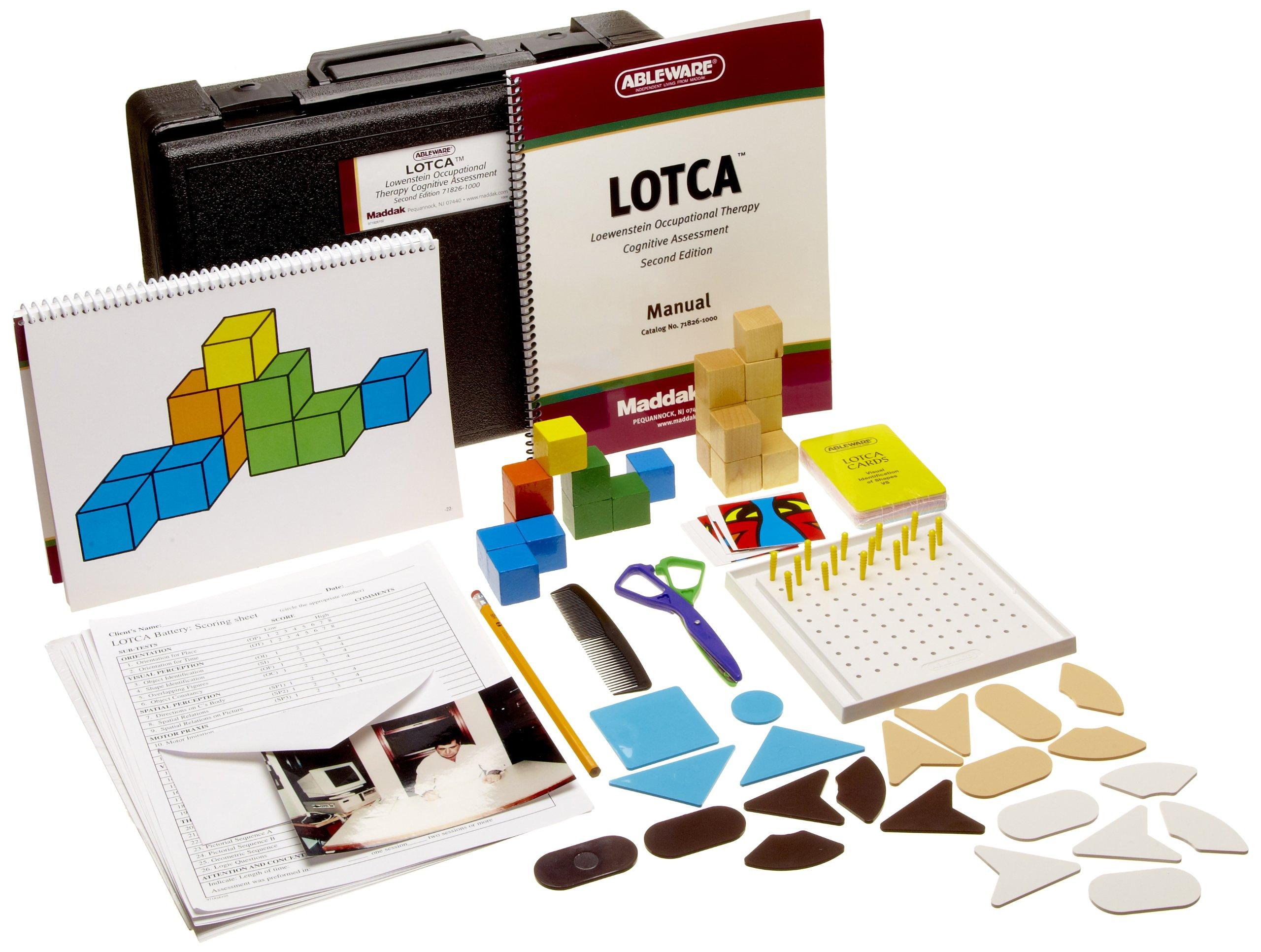 Maddak LOTCA  2nd Battery Theraputic Cognitive Assessment (71826-1000)