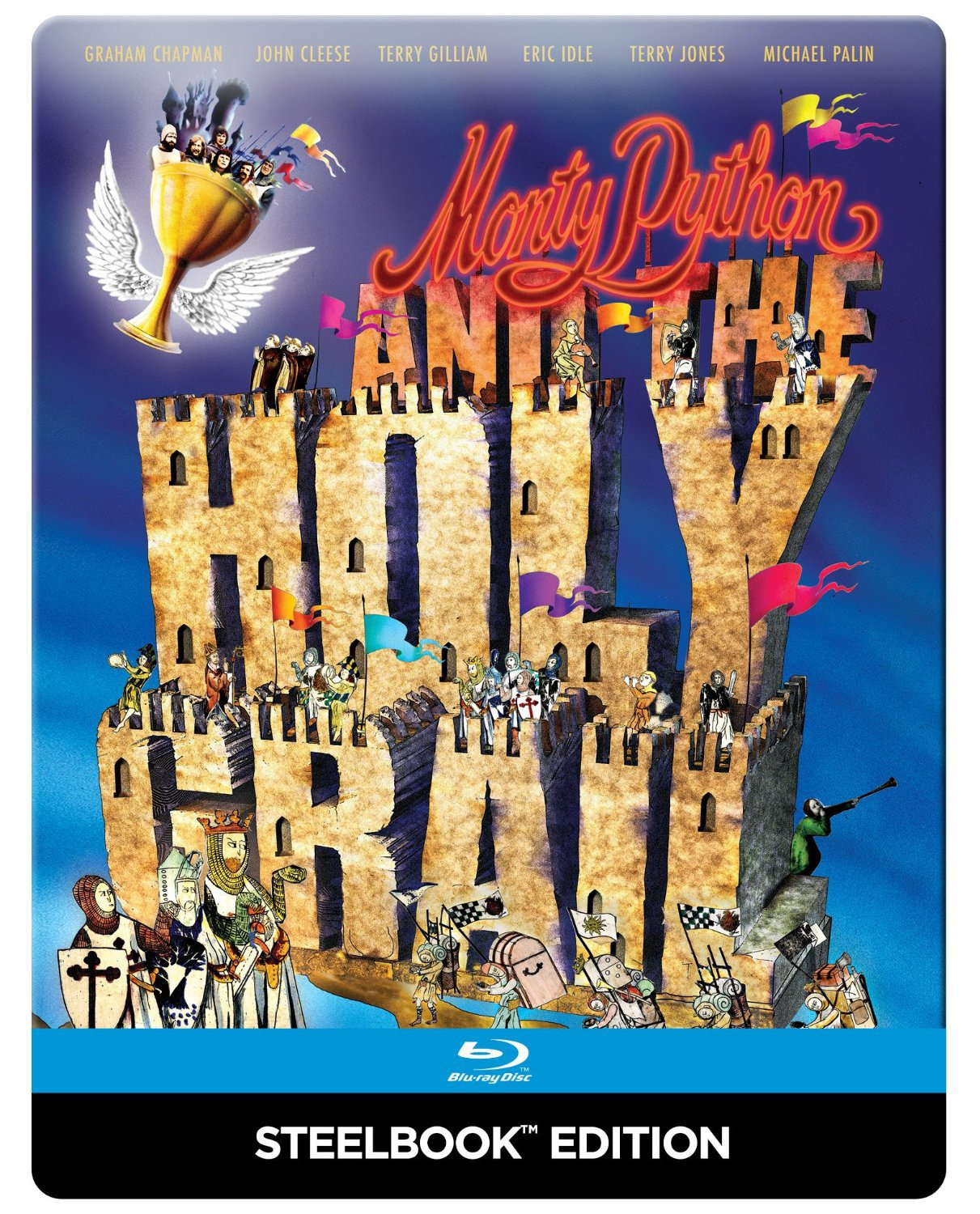 Monty Python and the Holy Grail Reino Unido Blu-ray: Amazon.es ...
