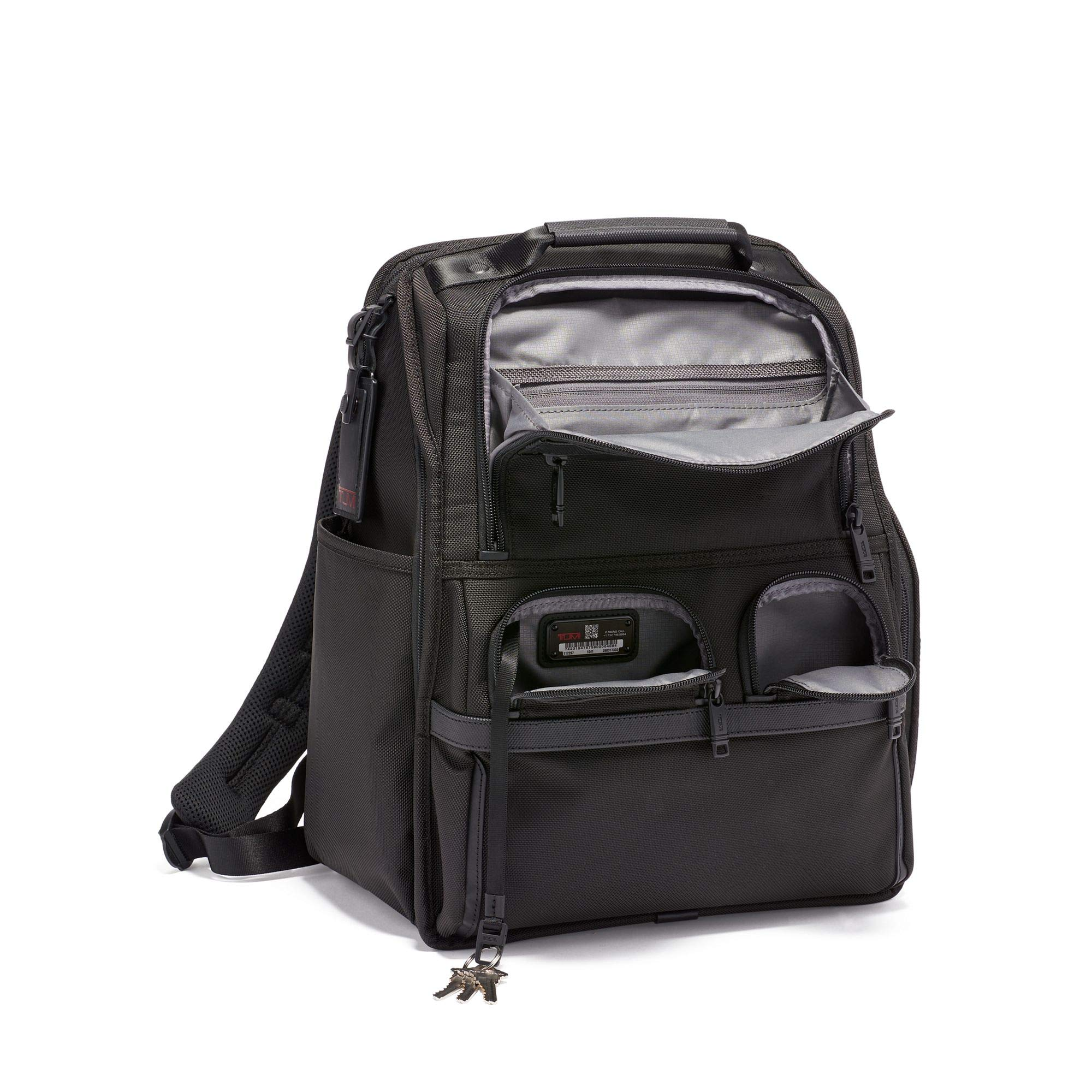 TUMI - Alpha 3 Compact Laptop Brief Pack - 15 Inch Computer Backpack for Men and Women - Black by TUMI (Image #3)