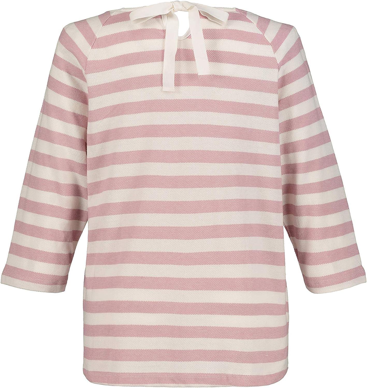 Ulla Popken Damen große Größen Sweatshirt 720630 Rosa (Rosa-mauve 72063056)