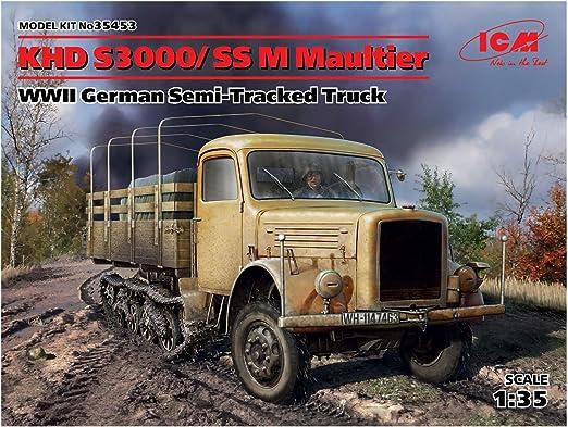 Ätzteilset Capote KHD A,S3000//SSM Maultier WWII in 1//35 von V-Models