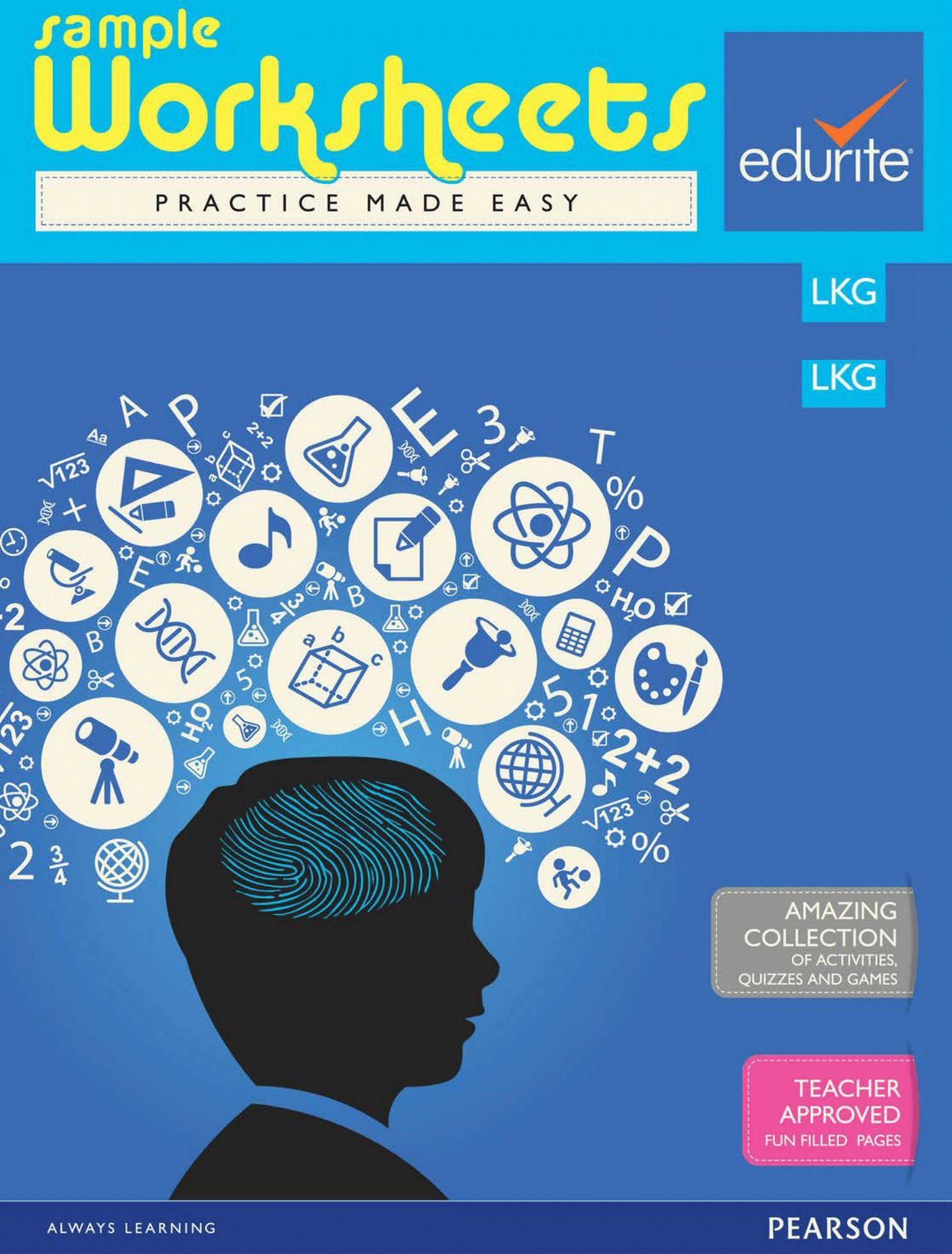 Buy Edurite Get Ready for School pack(A set of 9 Workbooks for LKG ...