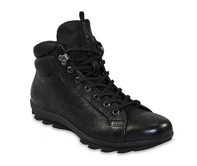 f341fa986627 Prada Men s Lugged Vintage Leather Hiking Boots