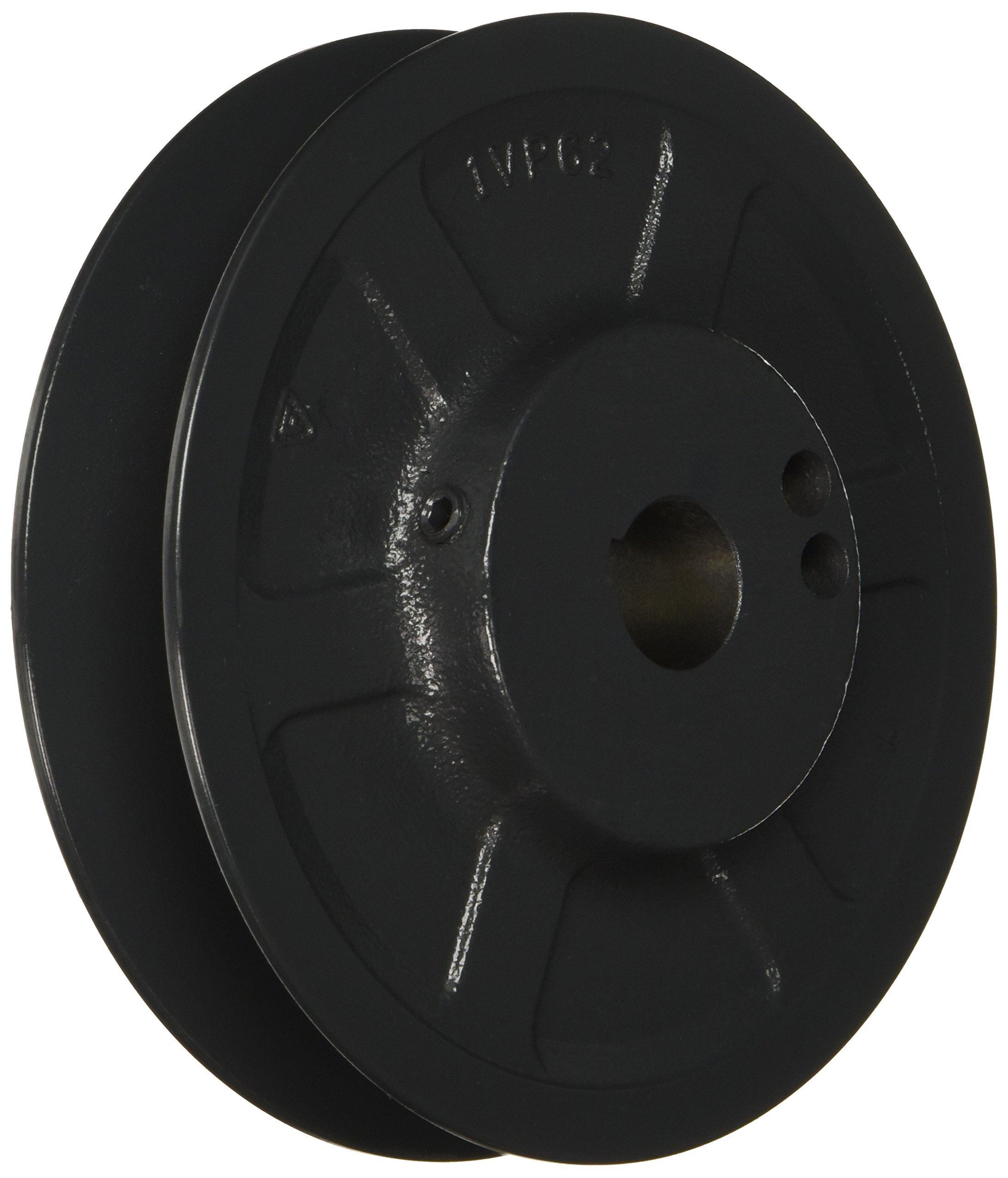 Browning 1VP62X7/8 Variable Pitch Sheave, 1 Groove, Finished Bore, Cast Iron Sheave, for 4L or A, 5L or B, 5V Section Belt