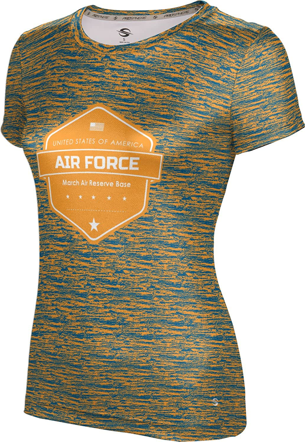 ProSphere Women's March Air Reserve Base Military Brushed Tech Tee