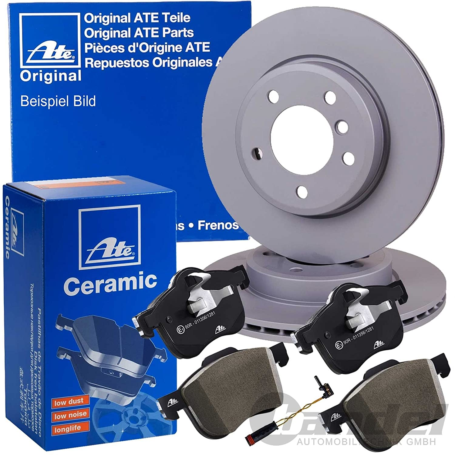 For Mercedes W203 C230 C240 Complete Rear Brake Kit Rotors /& Pad Premium Quality