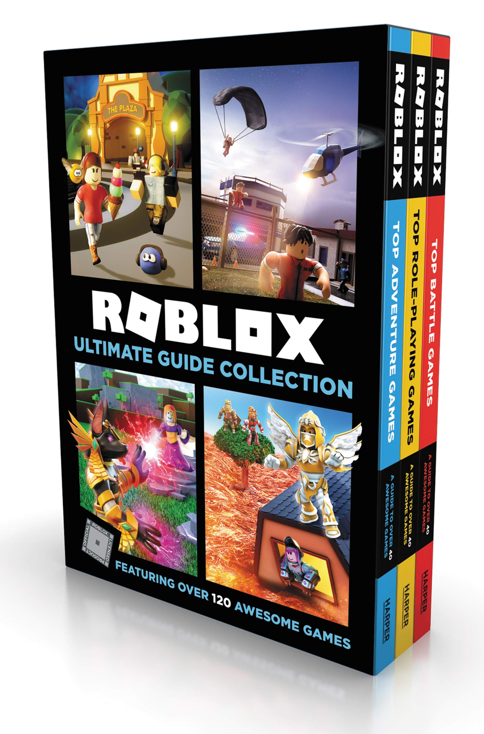 Cool Awesome Roblox Images Roblox Ultimate Guide Collection Top Adventure Games Top Role Playing Games Top Battle Games Official Roblox Books Harpercollins Official Roblox Books Harpercollins 9780063023338 Amazon Com Books