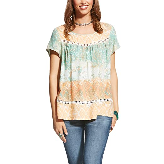 7133e015534 ARIAT Nikki Top at Amazon Women's Clothing store: