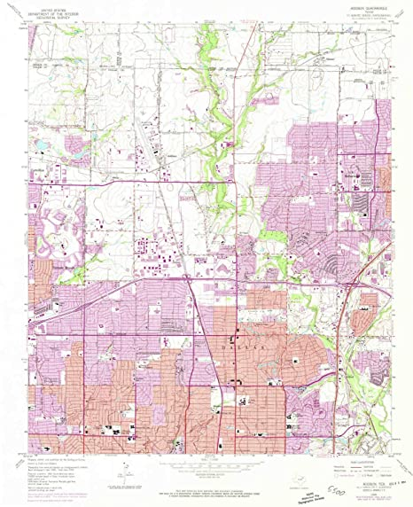 Amazon Com Yellowmaps Addison Tx Topo Map 1 24000 Scale