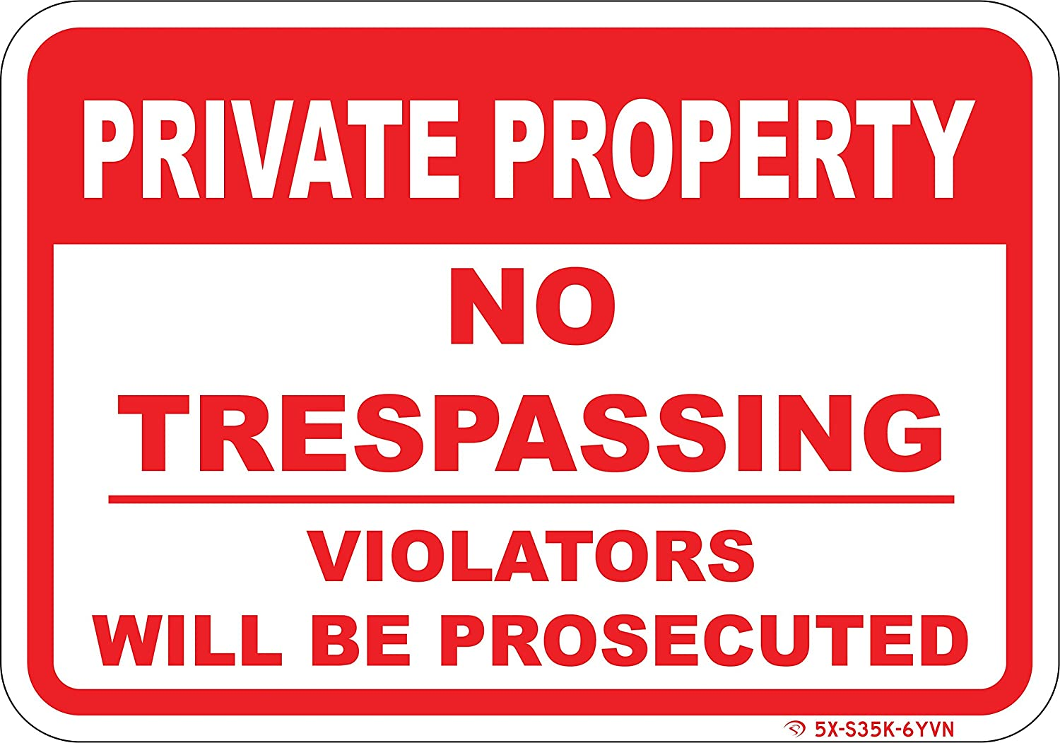 image regarding Printable No Trespassing Sign titled Personal Home NO TRESPASSING Signal - 10\