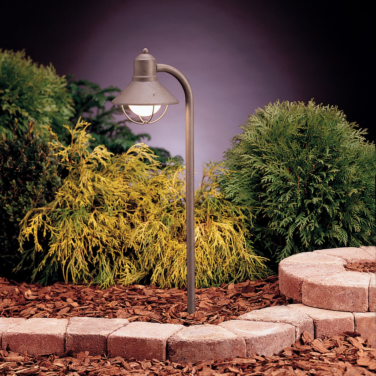 Kichler 15438OB One Light Path & Spread