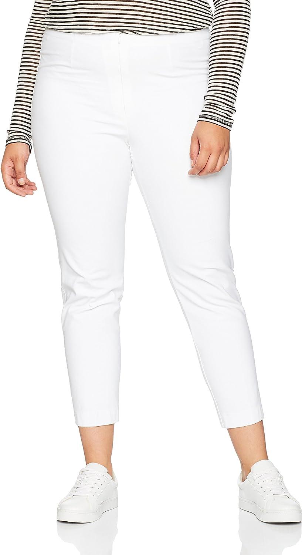 Ulla Popken 660046 7/8 Hose, Pantalones para Mujer