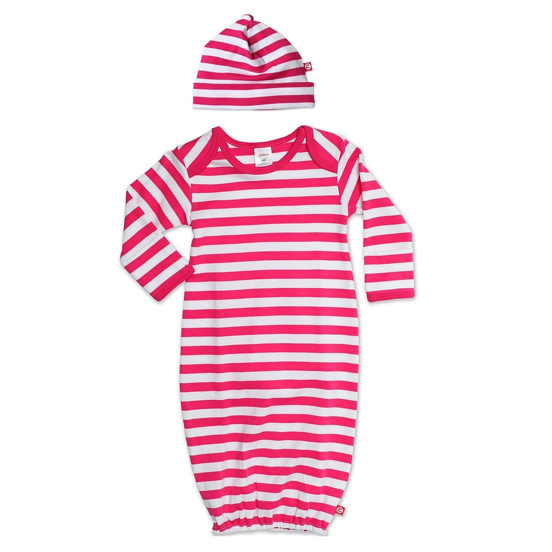 Amazon.com: Zutano Sleep Sack Layette Gown and Hat Newborn Gift Set ...