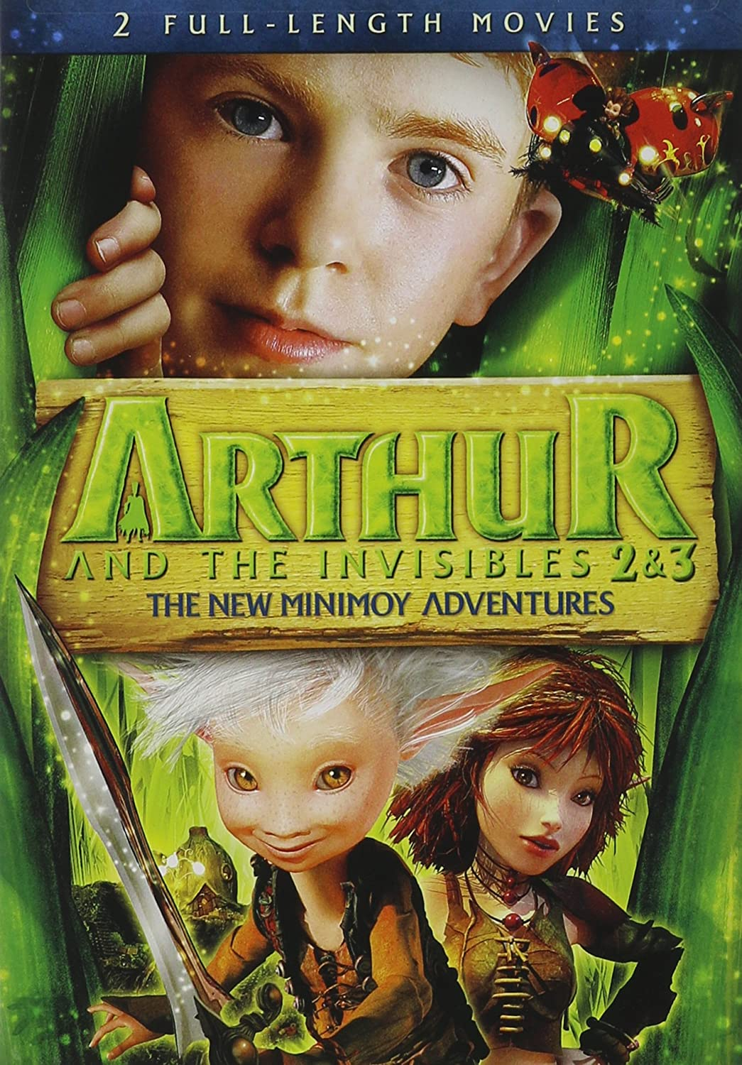 Amazon Com Arthur And The Invisibles 2 And 3 New Minimoy Adventure Arthur The Invisibles 2 3 New Minimoy Adventur Movies Tv