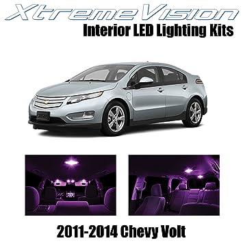 xtremevision Chevy Volt 2011 - 2014 (7 piezas) blanco frío paquete de interior LED Kit Premium + herramienta de instalación: Amazon.es: Coche y moto