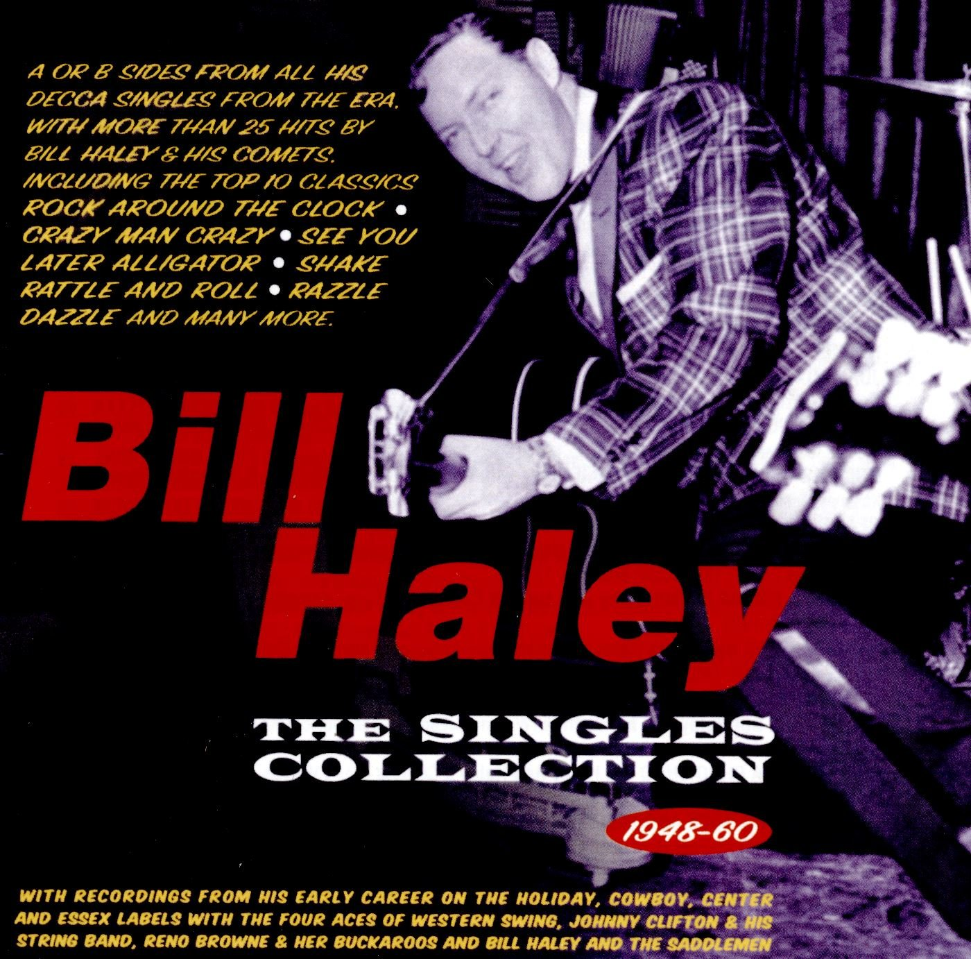 CD : Bill Haley - Singles Collection 1948-60 (2 Disc)