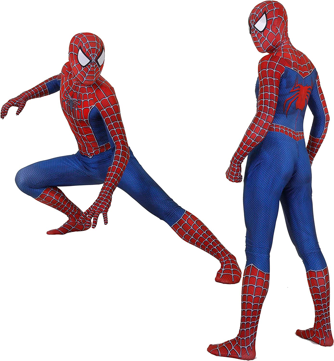 CatHighness Unisex Lycra Spandex Zentai Halloween Cosplay Costumes Adult/Kids 3D Style: Clothing