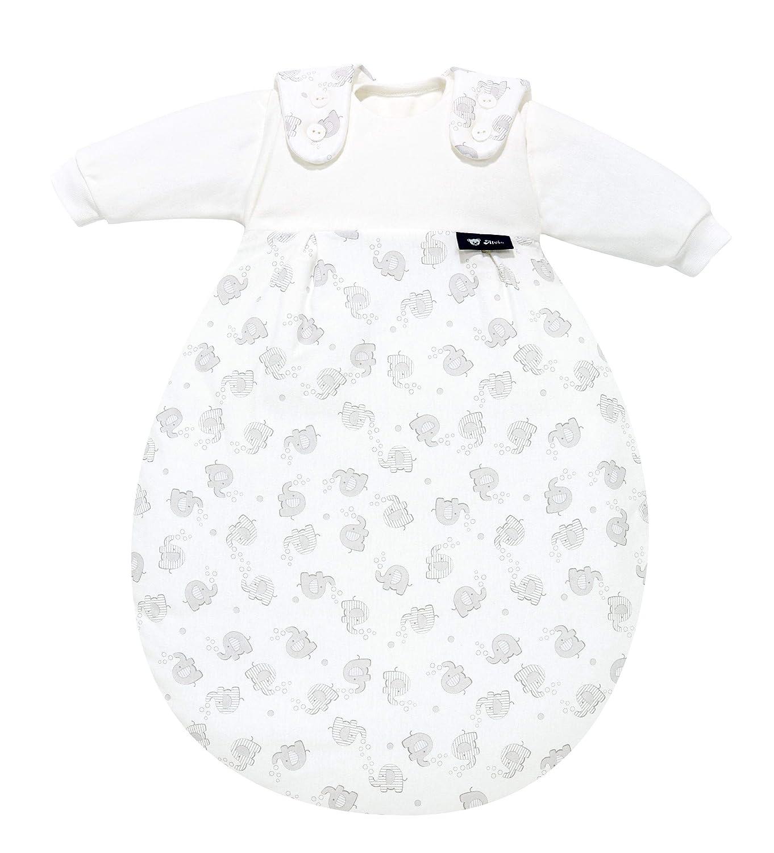 Alvi Baby-M/äxchen Schlafsack 3-teilig 50//56 Streifenfant silber 865-9