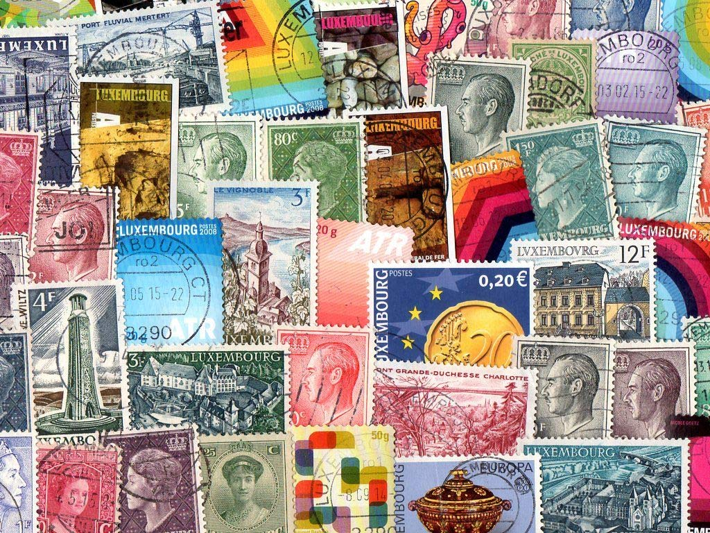 Luxembourg   500 Different Stamps Collection Mixture Packet Stamps For Collectors