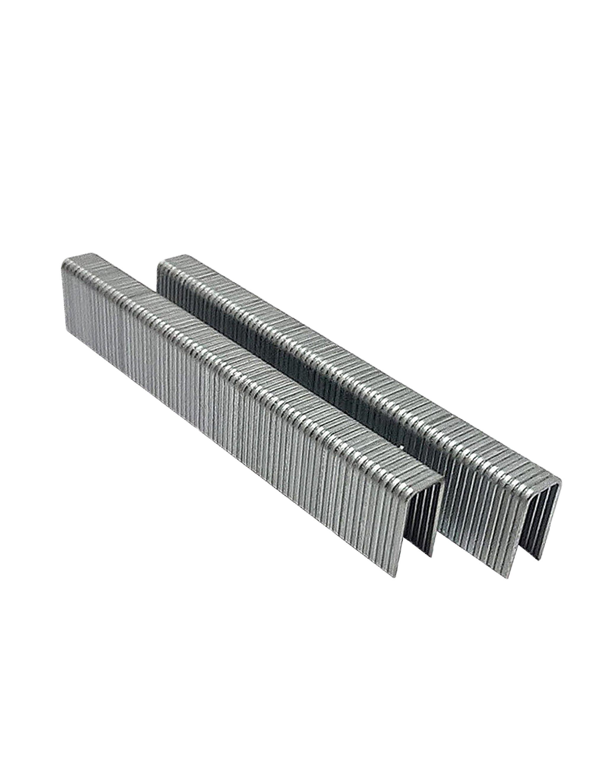 5000 Pcs 5/8 Long x 1/4 Galvanized Steel Wire L Staples, Pins 18-Gauge Nerrow Crown Staples, For Stapler Gun, Hitachi, Senco, Porter Cable, etc. Air Tool Super-Deals-Shop
